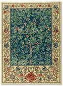 "Wandteppich ""Tree of Life"" (groß, 88 x 120 cm) - nach Wiliam Morris"