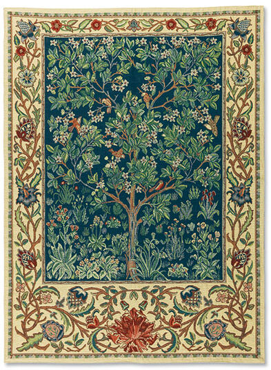 "Tapestry ""Tree of Life"" (large 88 x 120 cm) - after Wiliam Morris"