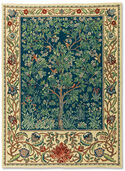 "Tapestry ""Tree of Life"" (small size 67 x 105 cm) - after Wiliam Morris"