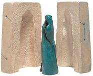 "Sculpture group ""Relationship"", bronze and cast stone"