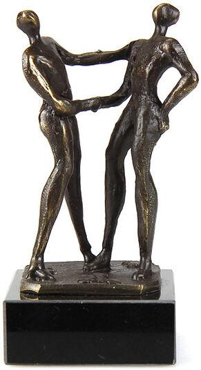 "Gerard: Skulptur ""Per Handschlag"""