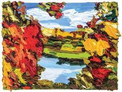 "Bild ""Herbstfarben 1"" (2015) (Unikat)"