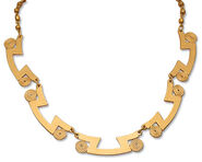 "Collier ""Golden Eternity"""