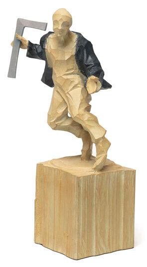 "Roman Johann Strobl: Sculpture ""Architect"""