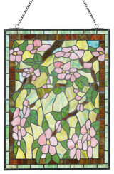 "Tiffany-Fensterbild ""Blütenzauber"""