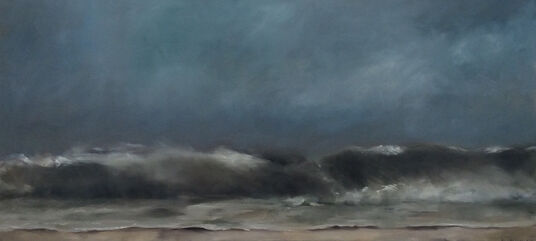 "Anne Böddeker: Bild ""Herbststurm"" (2016) (Unikat)"