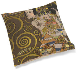 """Cushion cover """"Expectation"""", Brown edition"""