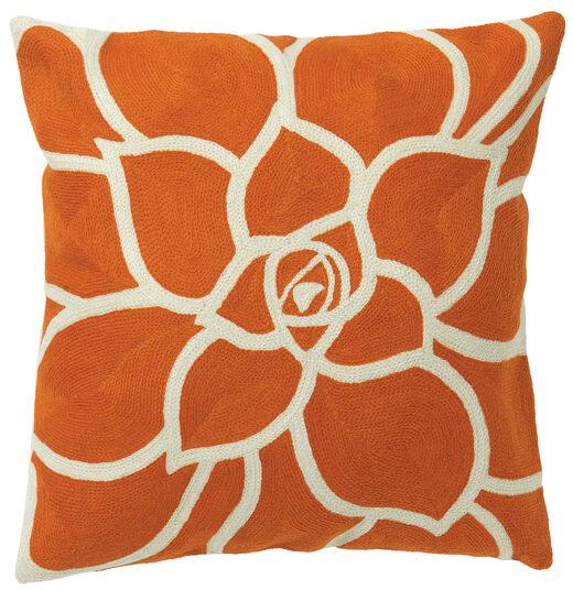 kissenh lle flower power nap orange flower ars mundi. Black Bedroom Furniture Sets. Home Design Ideas
