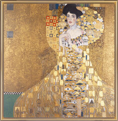 "Painting ""Adele Bloch-Bauer I"" (1907)"