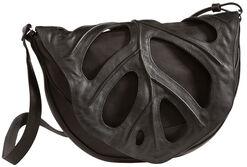 """Shoulder Bag """"Leaf"""", Black"""