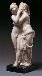 "Skulptur ""Amor und Psyche"" (Reduktion), Kunstguss"