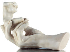 "Sculpture ""The Hand of God"" (1917), artificial marble Edition"