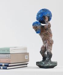 """Skulptur """"Atlas"""" (2013), Bronze"""