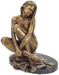 """Skulptur """"Claudia"""", Kunstbronze"""