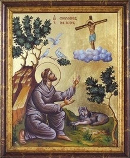 Vita-Ikone des Heiligen Franz von Assisi - ars mundi