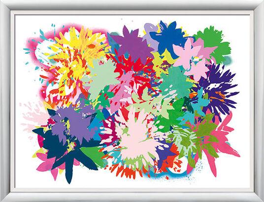 """Ulrike Bultmann: Bild """"Acid Blooming III"""", gerahmt"""