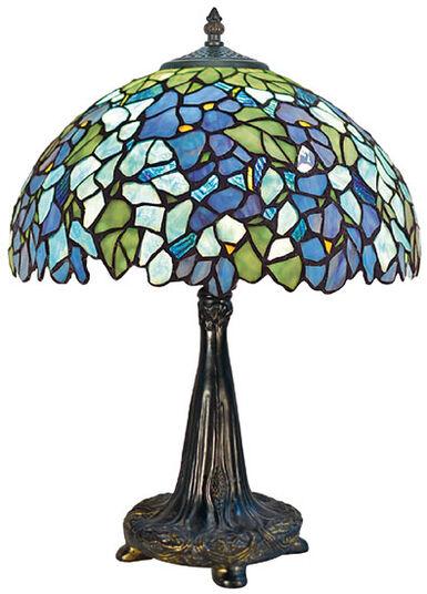Louis C Tiffany Table Lamp Romance Ars Mundi English
