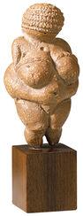"""Skulptur """"Venus von Willendorf"""""""
