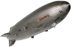 "Large model airship ""Zeppelin LZ 129 Hindenburg"""