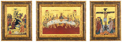 Icons from Mount Athos, 3 Piece Set