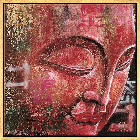"Picture  ""Little Buddha, red"""