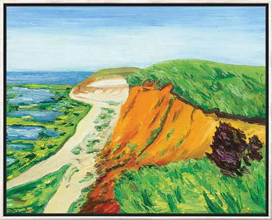 """Ben Kamili: Bild """"Sylt Morsum-Kliff"""" (2012), gerahmt"""