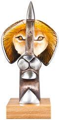 "Glasskulptur ""The King II"""