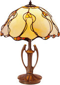 "Table Lamp  ""Natural Amber"""