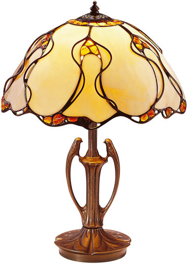 "Louis C. Tiffany: Table Lamp  ""Natural Amber"""