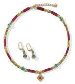 """Jewellery set """"Laburnum"""""""