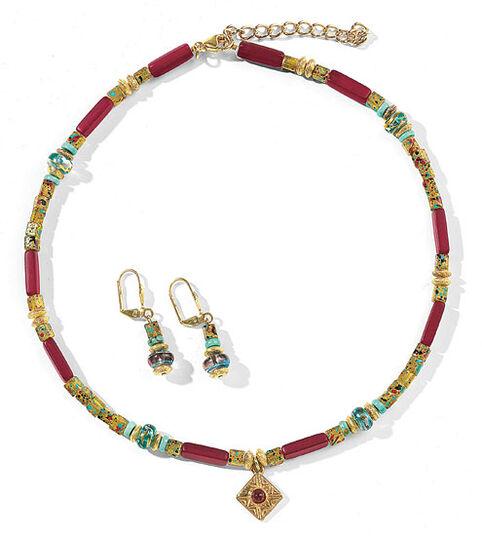 "Petra Waszak: Jewellery set ""Laburnum"""