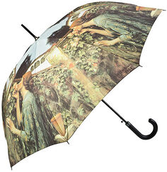 Walking length umbrella 'My Sweet Rose'