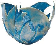 Blaue Feuerschale (Version ohne Granitstele)