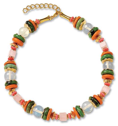 "Petra Waszak: Necklace ""Delaunay"""