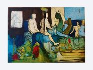 """Bild """"Castor und Pollux"""" (2012), ungerahmt"""