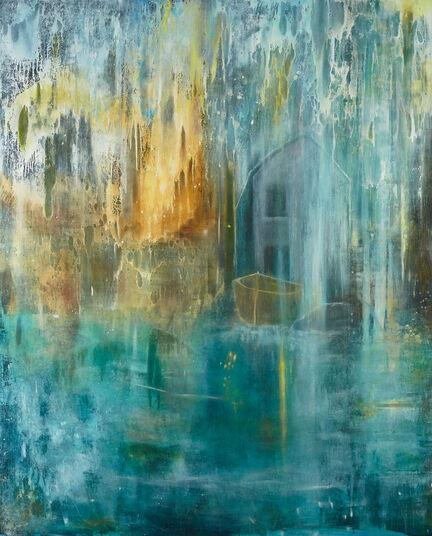 """Sonja Edle von Hoeßle: Bild """"Meeresstern"""" (2013) (Unikat)"""