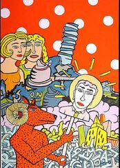 """Bild """"Widder"""" (2002), ungerahmt"""