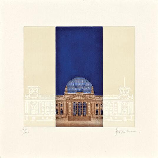 """Joseph Robers: Bild """"Reichstag"""", ungerahmt"""