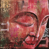 """Picture  """"Little Buddha, red"""""""