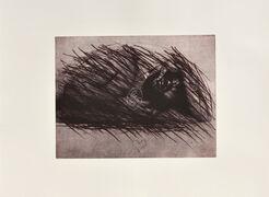 """Bild """"Stichelei mit Herz"""" (1974/75)"""