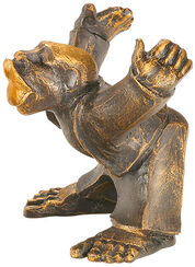 "Sculpture ""A Kiss from Him"", artificial casting"