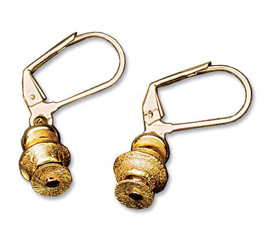 """Petra Waszak: Drop Earrings """"Argonaut Gold"""""""