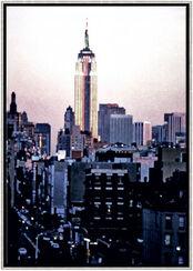 """Bild """"Empire State"""", gerahmt"""