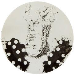 "Porcelain plate ""Clara"""