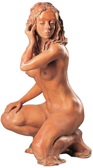 "Günther Christlein: Sculpture ""Rebecca"" (1976), artificial stone"