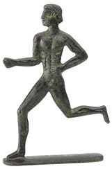 "Statuette ""Runner"" After Olympic Model"