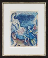 """Bild """"Der Zirkus (Clown und Kunstreiterin)"""" (1967)"""