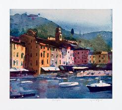 """Bild """"Portofino"""" (2008), ungerahmt"""