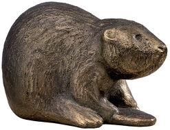 """Skulptur """"Benny Biber"""" (2011), Bronze"""