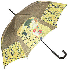 "Walking-stick umbrella ""The Kiss"""